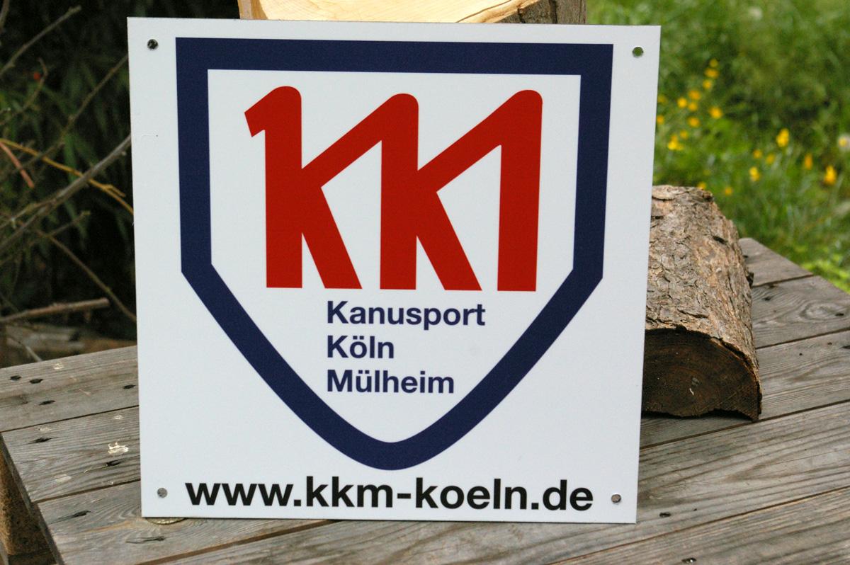 Werbeschild KKM