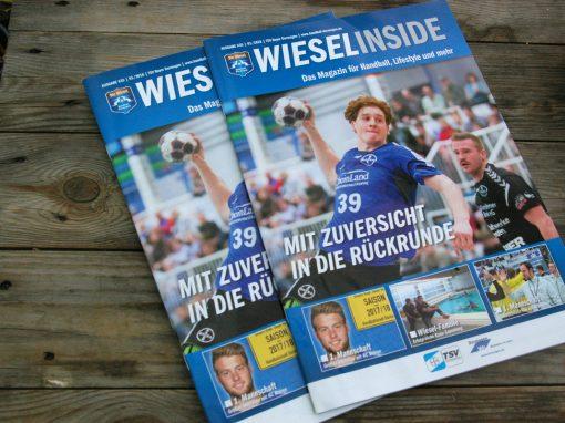 TSV Bayer Dormagen Handballmagazin WieselInside